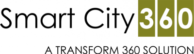 smart city 360 logo white